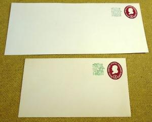 U545, 4c U.S. Postage Envelopes qty 2
