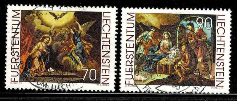 Liechtenstein # 1160-62 ~ Short Set 2/3 ~ Used, HMR ~ cv 2.50