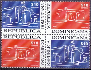 Dominican Republic. 2011. the museum. MNH.