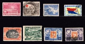 Philippines Stamp  USED STAMPS COLLECTION LOT  #7