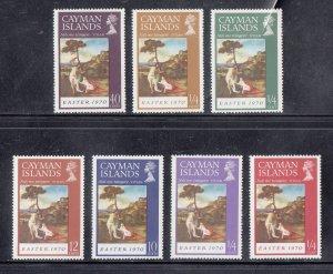 Cayman Islands Scott #251-257 MNH