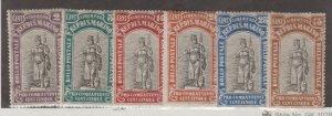 San Marino Scott #B3-B8 Stamps - Mint Set