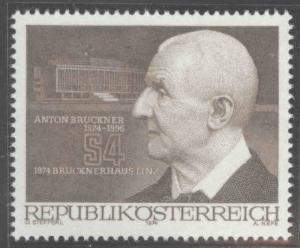 Austria Scott 981 MNH** 1974 stamp