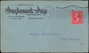 United States, Pennsylvania, Advertising, First Bureaus