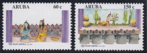 Aruba 205-206 MNH (2001)