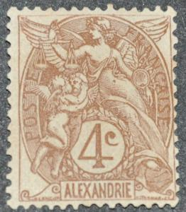 DYNAMITE Stamps: French Alexandria Scott #19 - UNUSED