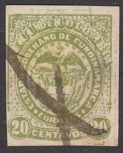 COLOMBIA An old forgery of a classic stamp..................................A772