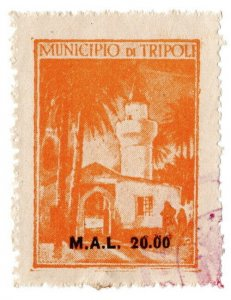 (I.B) BOIC (Tripoli Municipal) Revenue : Duty 20.00m (unlisted)