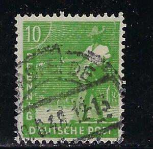 Germany AM Post Scott # 560, used
