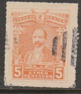 MEXICO 504, 5¢ Pres. FRANCISCO I. MADERO. USED. VF. (1041)