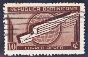 Dominican Republic Scott C41 Used stamp