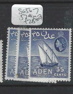 ADEN (P0204B)  QEII   35C  SG 56-7, 57A    MOG