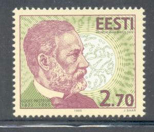 Estonia Sc 294 1995 Louis Pasteur stamp mint NH
