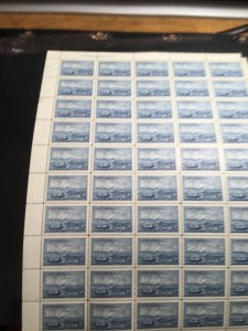 Canada #313 Plate 2 UL Sheet of 50-Stamps & PB VF-NH 7c CAPEX Stagecoach & Plane