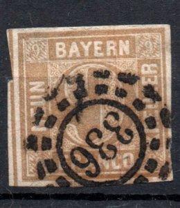 Bavaria 1862 #12 *USED*