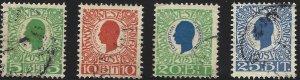Danish West Indies #31-34, Used