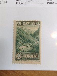 Andorra (French)  #  48  MNH