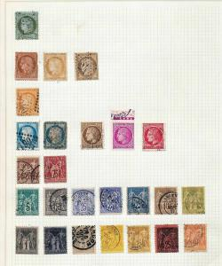 FRANCE Early/Mid Used Collection(Appx 170 Items) (JJ853