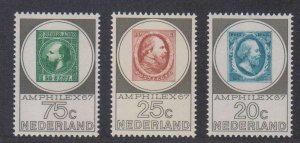 Netherlands,  AMPHILEX 67 (SC# 448-450) MNH SET