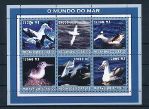 [31905] Mozambique 2002 Birds Vögel Oiseaux Ucelli   MNH Sheet