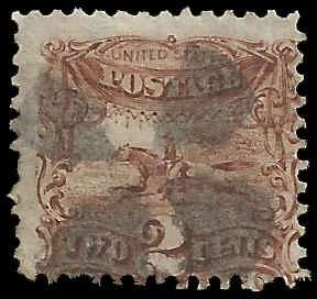 # 113 Brown Used Postal Horse And Rider (pony Express)