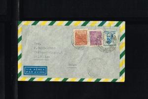 1958 - Brasil Air letter - To St. Gallen [B06_119]