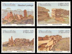 Namibia 1997 Scott #816-819 Mint Never Hinged