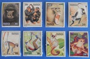 Rwanda, Animals, (1934-Т)