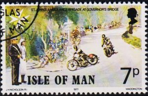 Isle of Man. 1977 7p S.G.100 Fine Used
