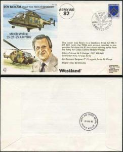 TP24a Roy Moxam Chief Test Pilot of Westlands Standard Cover (A)