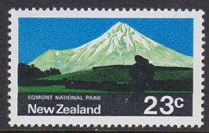 453 1970 Egmont National Park MNH