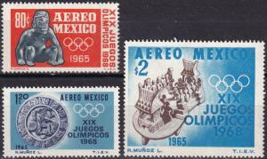 Mexico #C309-11  MNH  (SU7412)