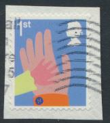 Great Britain SG 3676 Used  - Smilers Booklet stamp 2015 SC# 3354g