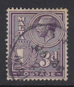 Malta Sc 137 (SG 162a), used