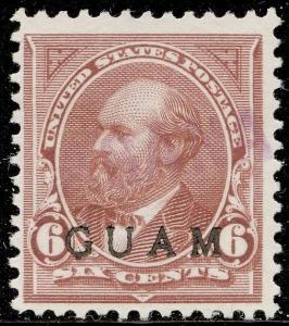 GUAM #6 VF USED CV $190.00 BQ3971