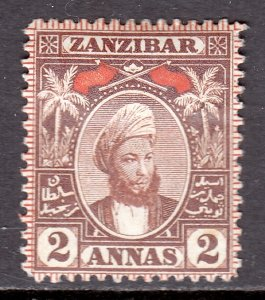 Zanzibar - Scott #58 - MH - SCV $7.00