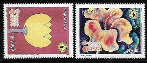 Paraguay 2008 NASTA Publicity Agency Sc 2859-2860 MNH A1590