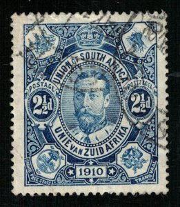 1910 Union of South Africa, Zuid Africa 21/2d Great Britain (TS-438)