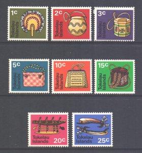 Tokelau Scott 25/32 - SG25/32, 1971 Handicrafts Set MNH**