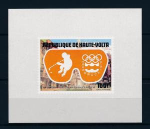 [55724] Burkina Faso 1975 Olympic games Icehockey MNH Sheet