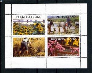 Bernera Island (Scotland) AGRICULTURE Sheet Perforated Mint (NH)
