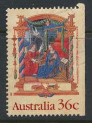 SG 1225  SC# 1159 Used  from booklet right margin imperf  - Christmas