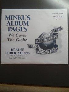 Minkus Yugoslavia supplement for 1998