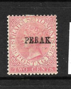 PERAK  1884-91  2c  QV  MH    SG 21
