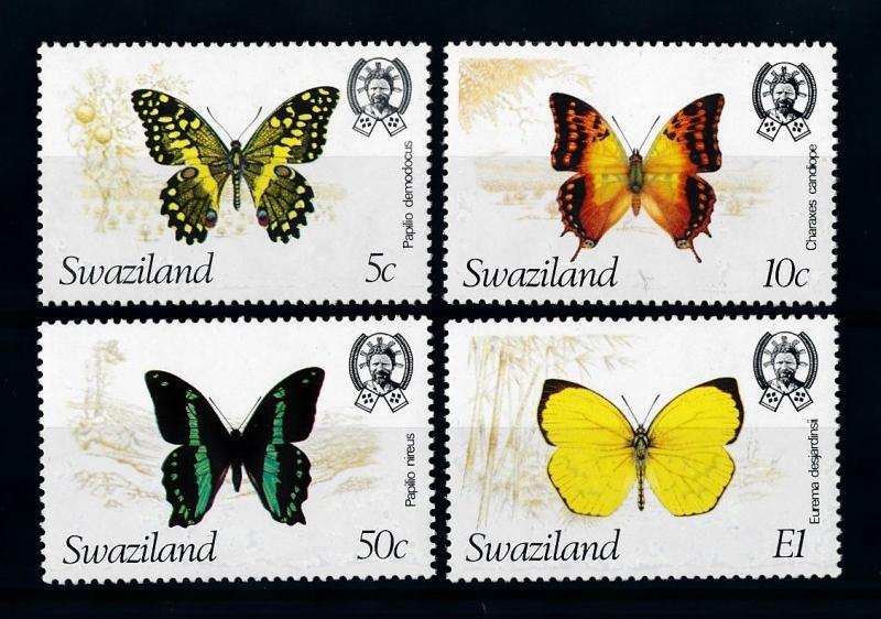 [70675] Swaziland 1982 Insects Butterflies  MNH