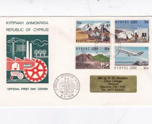 Cyprus 1976 Economic Reactivation FDC VGC