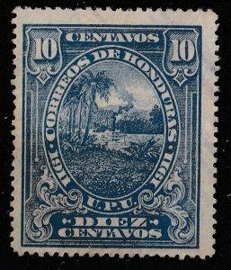 Honduras 1911 Various Designs 10c (1/8) USED