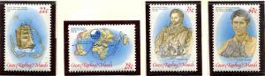 Cocos / Keeling Islands SC#61-4 Ship, Map & Prince set MNH