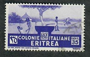 Eritrea 163 Pastoral Scene used single