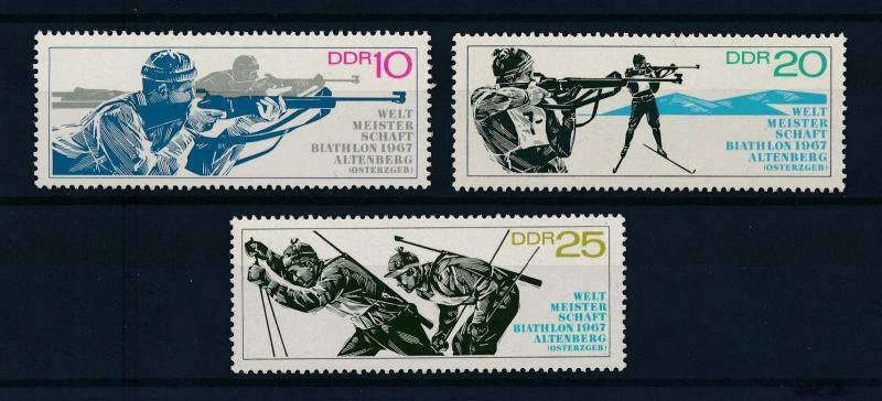 [75228] Germany DDR 1967 Wintersport Biathlon  MNH